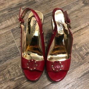 Michael Kors Red Espadrilles
